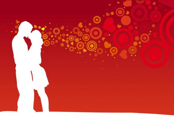 Kissing couple 2